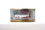 NEW! American Salmon--Chinook or Coho caught in Alaska! 100% American Process- 3 or 6 pack