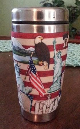 Insulated 16oz Travel Mug Awesome Made In Usa