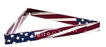 Delta-13 Patriotic Aluminum Billiard Rack- Professional Quality--Made in USA