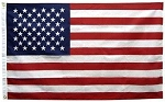 Annin Flags: 4' x 6' NYL-GLO Solar Max American Flag::100% Made In USA