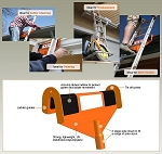 Ladders Little Helper: Ladder stabilizer and gutter protector
