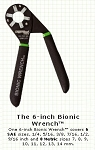 LT Designs 6 inch Bionic Wrench Black Oxide Finish--Made in USA