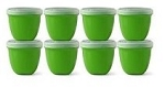 Preserve Products- Mini Food Storage Set, 8 Pack