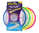 Aerobie Skylighter Lighted Disc for NIGHT throw/ catch play:: Made in USA