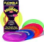 Squidgie® Disk--Entry level soft, flexible flying  toy- Made In USA
