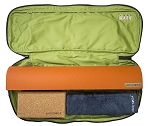 JADE Khaya Yoga Bag: Holds Mat, Towel and more. Made in USA