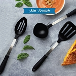 NEW!- Rada Cutlery: NON-SCRATCH 4 pc. Utensil Set--Made in USA