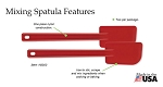 NEW!- Rada Cutlery: MIXING SPATULA- 2 Pack