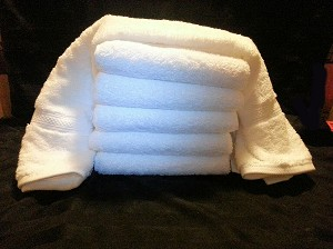 MAGNIFICENCE® by 1888 Mills:: 6 pack of Hand Towels:: Made in USA