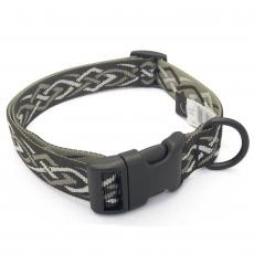 "Bison Designs Dog COLLAR- 1"" WIDE- Made in USA- ON SALE- 4 LEFT!"