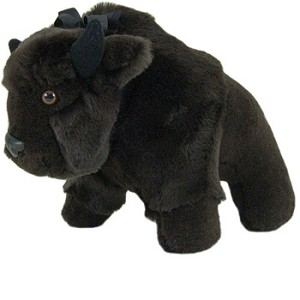 Buffalo Stuffed Animal- Made in USA: WILL CALL item!