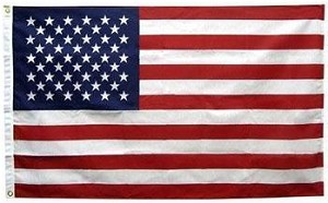 Annin Flags: 5' x 8' NYL-GLO Solar Max American Flag::100% Made In USA