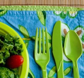 Preserve Products- On the Go Cutlery Set