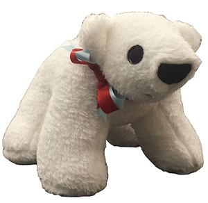 Polaris the Polar Bear Stuffed Toy- Made in USA