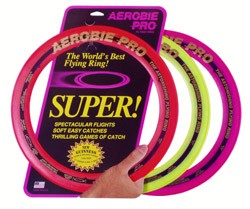 "Aerobie PRO Flying  Ring  (13"") Made in USA:: PRICE INCLUDES SHIPPING"