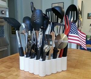 Tool Tender CounterTop Tool Organizer::Holds ALL your kitchen gadgets::Made in USA