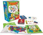 Scrambled States of America::Geography Game:: Made in USA