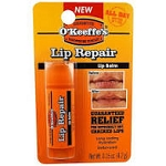 O'Keeffe's Lip Repair Balm (Unscented)- Made in USA