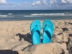 NuuSol CASCADE Flip Flops- Super Duper Comfortable- Made in USA:: BRAND NEW!