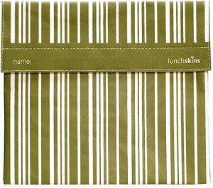 Lunch Skins: Green Stripe