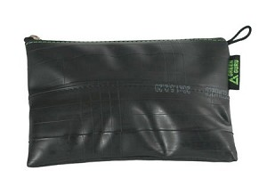 Green Guru--XL Zip Pouch